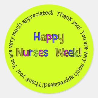 Happy Nurses Week Stickers