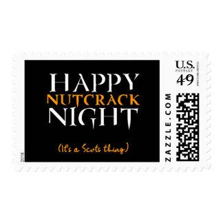 Happy Nutcrack Night Stamp