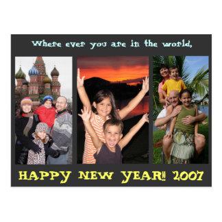 Happy NY 2007 Postcards