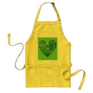 Happy O'Birthday with Heart T shirts and Gifts Adult Apron