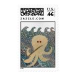 Happy Octopus Postage