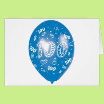 Happy One Hundredth Birthday Card