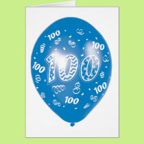 Happy One Hundredth Birthday Card
