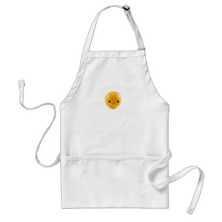 Happy Orange Adult Apron
