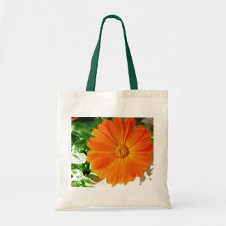 Happy Orange Gerber Tote Bag