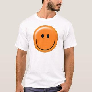 Happy orange smiley face T-Shirt
