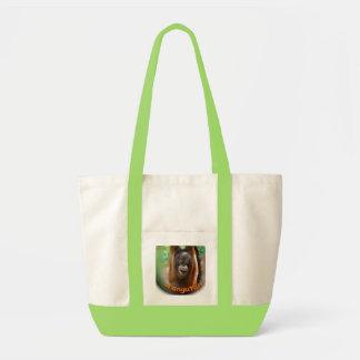 Happy Orangutan  Fan Tote Bag