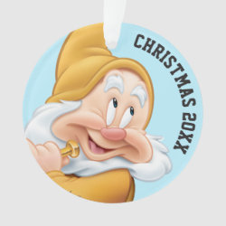Circle Acrylic Ornament with Disney: I Love California design