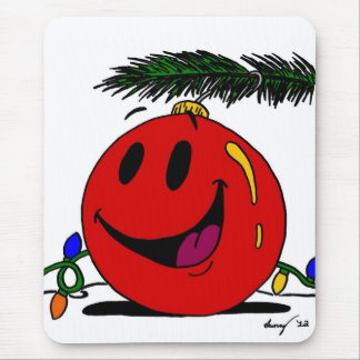 Happy Ornament Mousepad