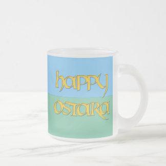 Happy Ostara Frosted Beer Mug