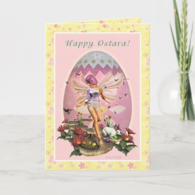 Vernal Equinox on Happy Ostara   Vernal Equinox   Spring Faerie Cards From Zazzle Com
