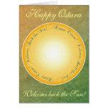 Happy Ostara! Welcome Back the Sun! Card