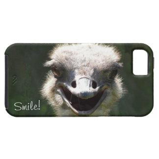Happy Ostrich, Smile!-Fun iPhone SE/5/5s Case