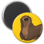 Happy Otter Magnet