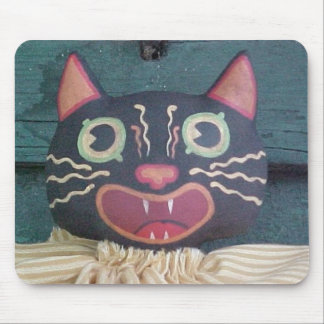 Happy Otto Cat Mouse Pad