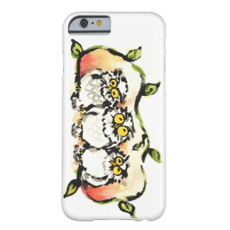 Happy owl brothers/the wax three sibling who is barely there iPhone 6 case