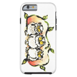 Happy owl brothers/the wax three sibling who is tough iPhone 6 case