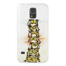 Happy owl family/the wax family which is wiped galaxy s5 case