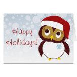 Happy Owl-idays Cards
