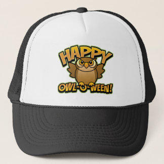 Happy Owl-O-Ween Trucker Hat