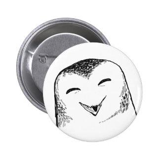 Happy Owl (Round) 2 Inch Round Button