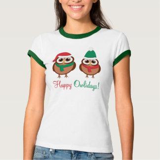 Happy Owlidays T-shirt