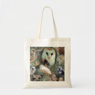 Happy Owls Budget Tote Bag