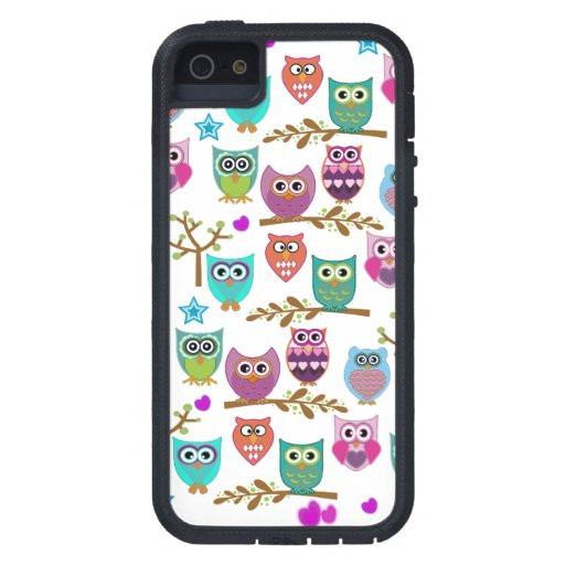 happy owls cover for iPhone 5