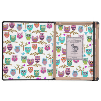 happy owls iPad cover