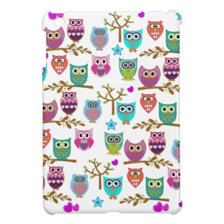 happy owls iPad mini cover