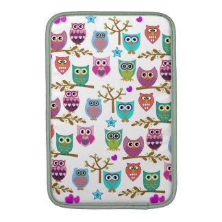 happy owls MacBook sleeve