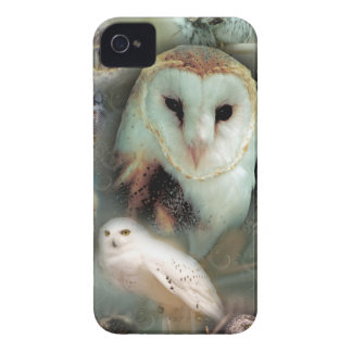 Happy Owls iPhone 4 Cover