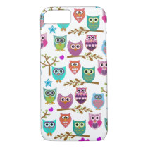 happy owls iPhone 7 case