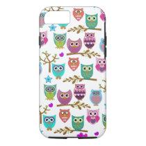 happy owls iPhone 7 case
