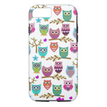 happy owls iPhone 8/7 case
