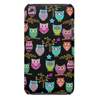happy owls iPod Case-Mate case