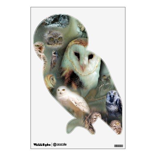 Happy Owls Room Graphics