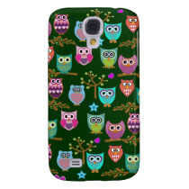 happy owls samsung galaxy s4 cover