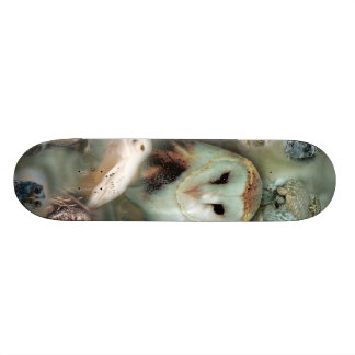 Happy Owls Skateboard