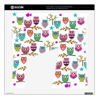 happy owls xbox 360 s console skins