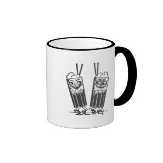 Happy Pair of Sodas Ringer Coffee Mug