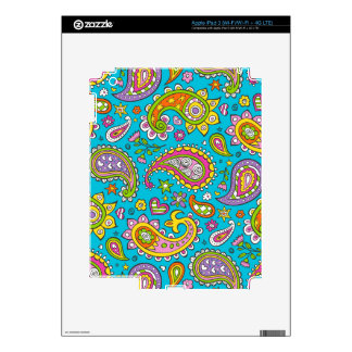Happy Paisley Decals For iPad 3