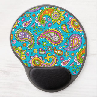 Happy Paisley Gel Mouse Pad