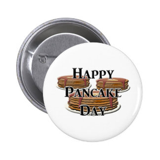Happy Pancake Day Buttons