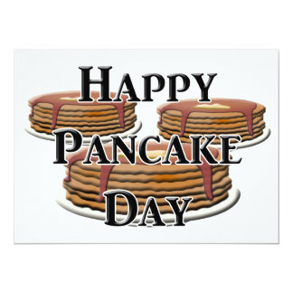 Happy  Pancake Day Card