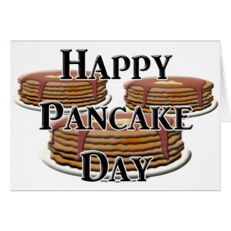 Happy  Pancake Day Cards