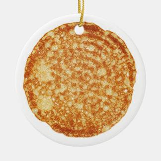 Happy Pancake Day! Ceramic Ornament
