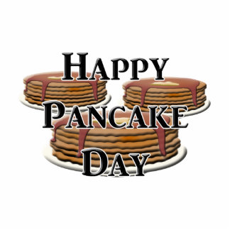 Happy Pancake Day Cut Out