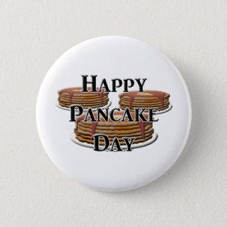 Happy Pancake Day Pinback Button