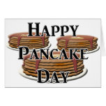 Happy  Pancake Day Stationery Note Card